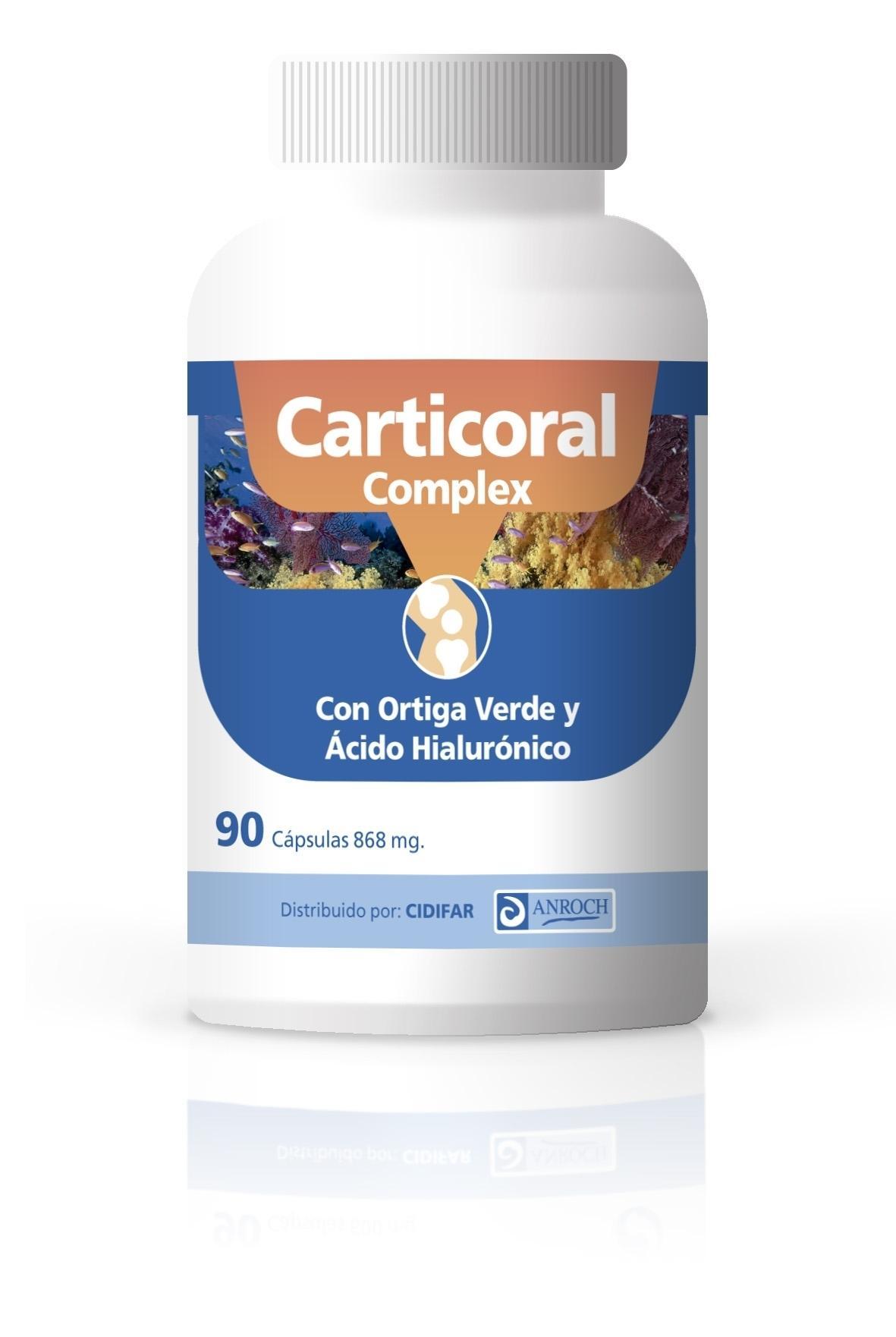 CARTICORAL COMPLEX, 90 cápsulas de 868 mg. ¡OFERTA TEMPORAL sin gastos de envío!