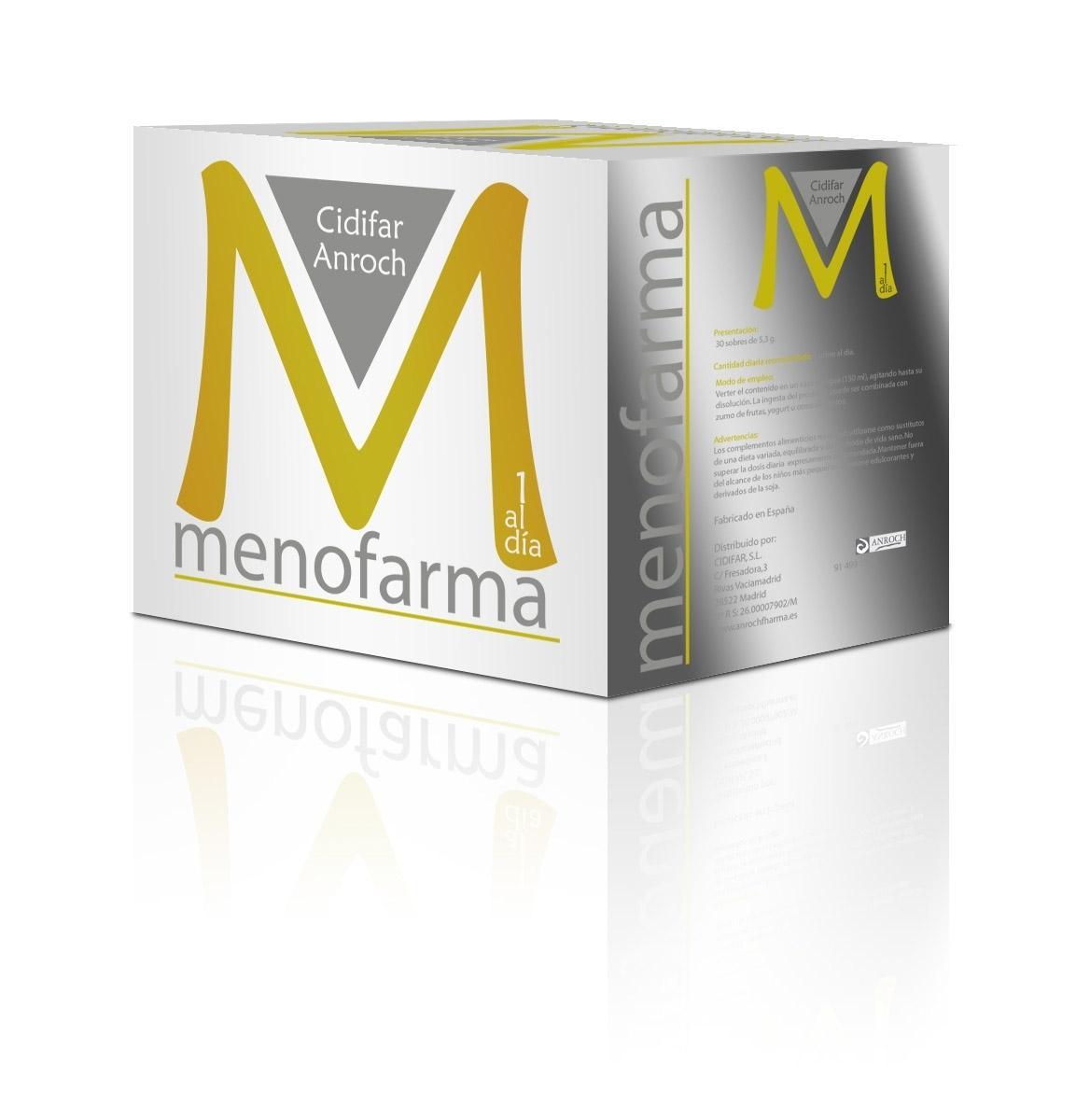 MENOFARMA, 30 sobres de 5.3 g. ¡OFERTA TEMPORAL sin gastos de envío!