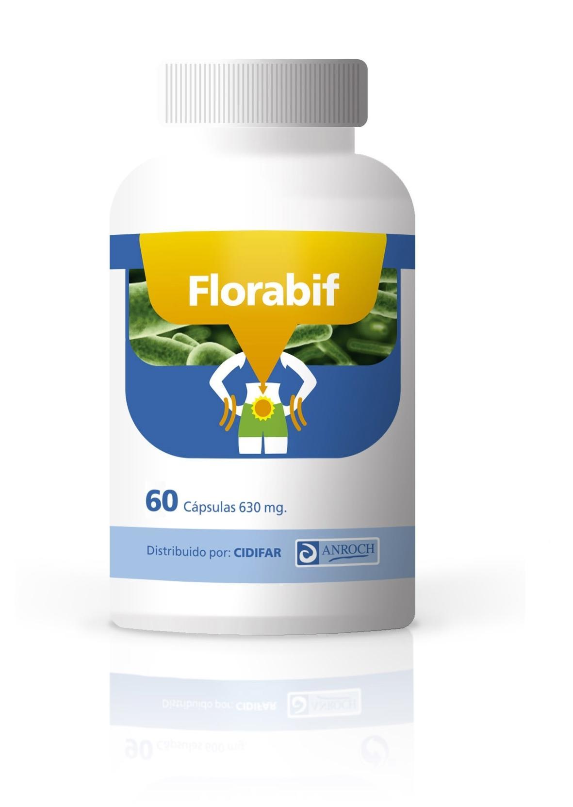 FLORABIF,60 cápsulas de 650 mg,
