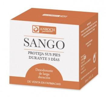 SANGO, desodorante para pies 50 mL.