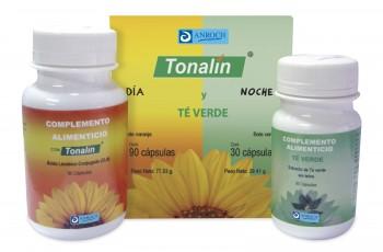 TONALÍN + TÉ VERDE, 90 perlas de 866 mg + 30 perlas de 980 mg.